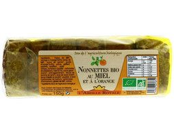 Nonettes au miel et orange BIO Abeille Royale - 150 g