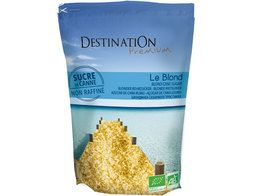 Sucre de canne le blond BIO Destination sucre - 1 kg