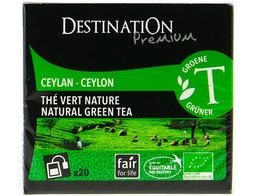 Thé vert nature BIO Destination The - 20 sachets