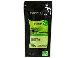 Thé vert sencha Chine BIO Destination the - 100 g