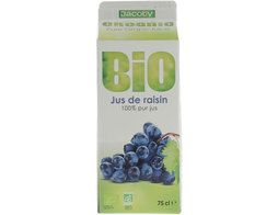Jus de raisin BIO Jacoby - 75 cl