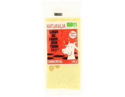 Portion d'emmental BIO Naturalia - 400 g