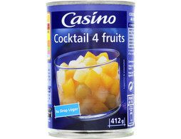 Cocktail de fruits au sirop léger Casino - 425 ml