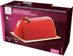 "Bûche glacée nougat abricot ""Made in France"" - 440 g"