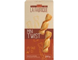 Mini twist nature salé - 100 g
