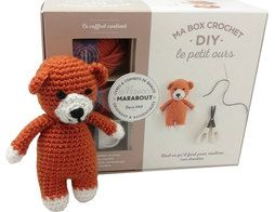 Box crochet petit ours - 125 points