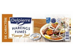 Filets de harengs fumés au naturel - 200 g