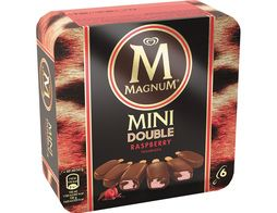 Mini Magnum double rasperry Framboise - 6 x 50 g