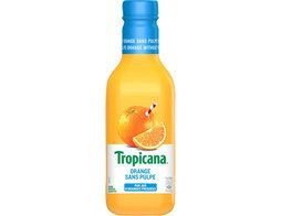 Jus d'orange sans pulpe Tropicana - 90 cl