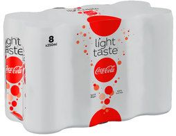 Coca cola light - 8 x 25 cl