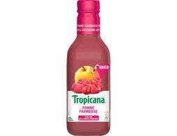 Jus pomme framboise Tropicana - 90 cl