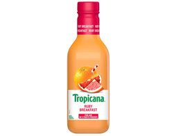 Jus multi-fruits Ruby breakfast Tropicana - 90 cl