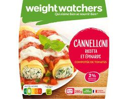 Cannelloni ricotta épinards Weight Watchers - 290 g