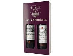 Coffret duo Bordeaux - 2 x 75 cl