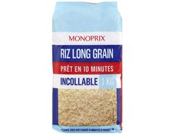 Riz long grain Monoprix - 1 kg