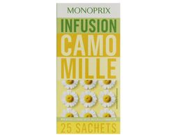 Infusion camomille Monoprix - 20 g