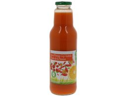 Pur jus d'orange, goji, acérola, fruits de la passion bio - 75 cl