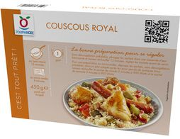 Couscous surgelé royal - 450 g