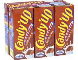 Candy'up chocolaté Candia - 6 x 20 cl