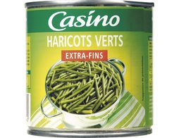 Haricots verts extra-fins Casino - 220 g