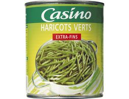 Haricots verts extra-fins Casino - 440 g