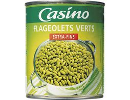 Flageolets verts extra-fins Casino - 530 g
