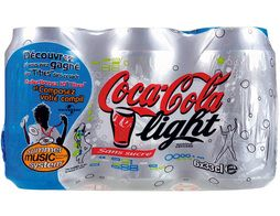 Coca-Cola light - 6 x 33 cl