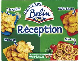 Assortiment de crackers Réception Belin - 380 g