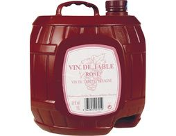 Vin de table rosé - 5 l