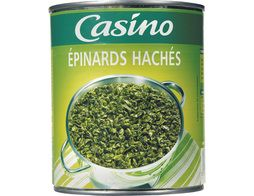 Epinards hachés Casino - 795 g