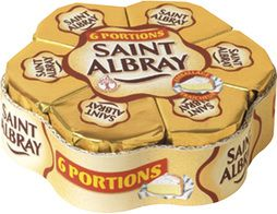 Saint-Albray en portions - 6 x 30 g