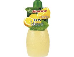 Jus de citron Siracuse - 20 cl