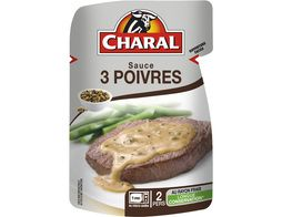 Sauce 3 poivres Charal - 120 g