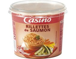 Rillettes de saumon Casino - 150 g