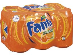 Fanta orange - 6 x 33 cl