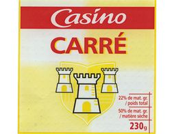 Fromage Carré Casino - 230 g