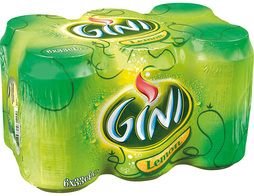 Gini Lemon - 6 x 33 cl