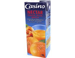 Nectar orange, pêche, abricot Casino - 1 l