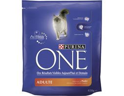 Croquette au poulet pour chat Purina One - 450 g