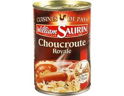 Choucroute royale au Riesling d'Alsace William Saurin - 400 g