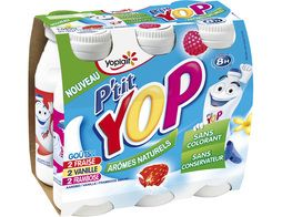 P'tit Yop Yoplait - 6 x 180 g