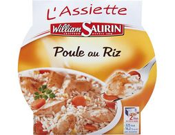 La poule au riz William Saurin - 285 g