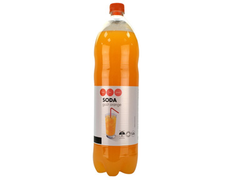 Soda goût orange - 1,5 l