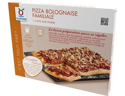 Pizza bolognaise rectangulaire - 600 g