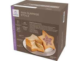 Pain surprise étoile surgelé - 630 g